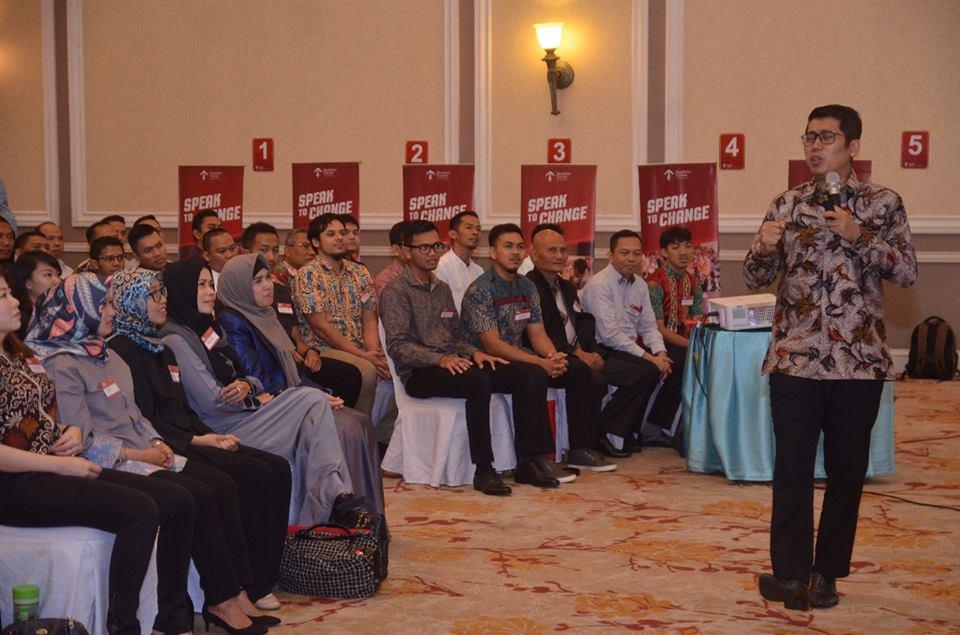 Speak To Change Batch 27 - Corporate Training Indonesia